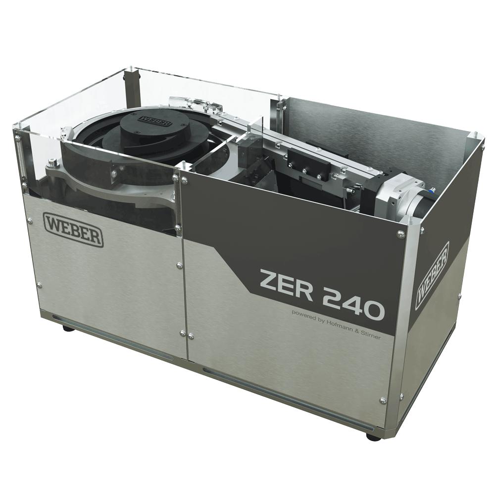Distribution par bol vibrant ZER pour pièces complexes WEBER 02 CAD