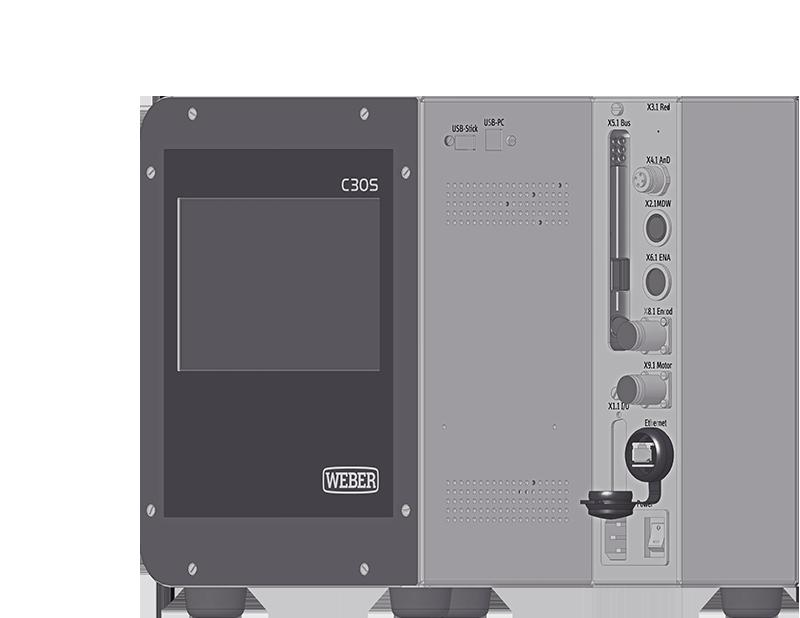 WEBER Coffret C30S - Controle courant ou couple et angle - CAD 2018