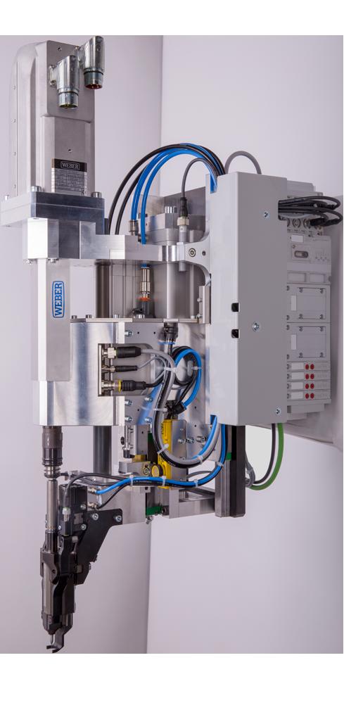 WEBER - RSF25 Système de vissage supporté par robot