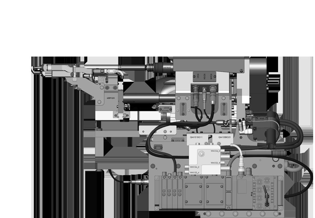 WEBER - RSF25 Système de vissage supporté par robot CAD
